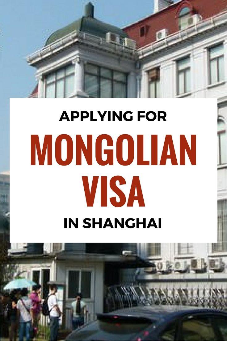 Applying For A Mongolian Visa In Shanghai Travel Insurance