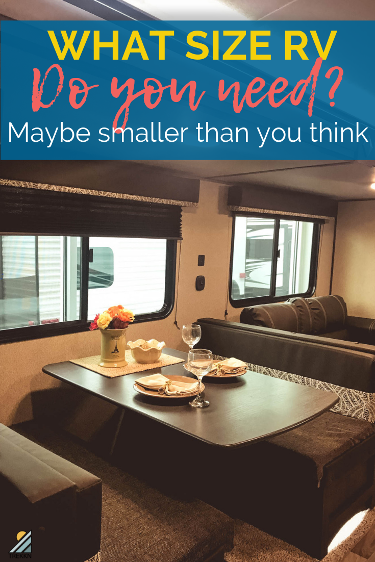 What Size RV do You Need? Maybe Smaller Than You Think -  Shopping for the perfect RV is stressful