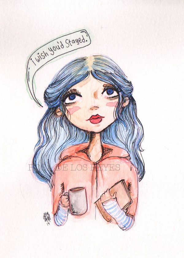Clementine Eternal Sunshine Of The Spotless Mind In Watercolor B