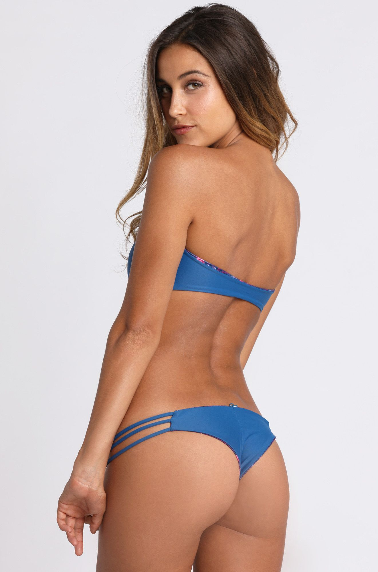 2015 Mary Grace Swim Reversible Camila Bottom in Sea Nymph ...