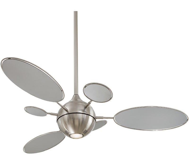Minka Aire F596 Bn Cirque Brushed Nickel 54 Ceiling Fan With