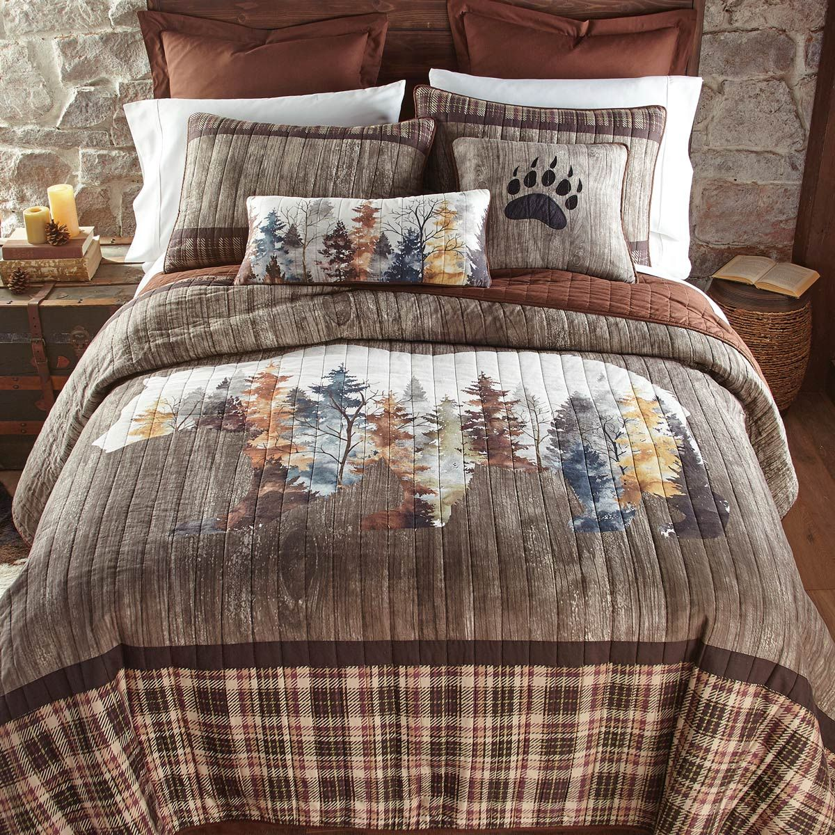 Peaceful Pines Bedding Rustic Bedding Sets Rustic Bedding Country Bedding Sets