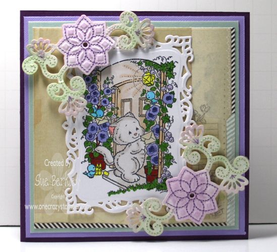 Kitty Post by SueMB - Cards and Paper Crafts at Splitcoaststampers