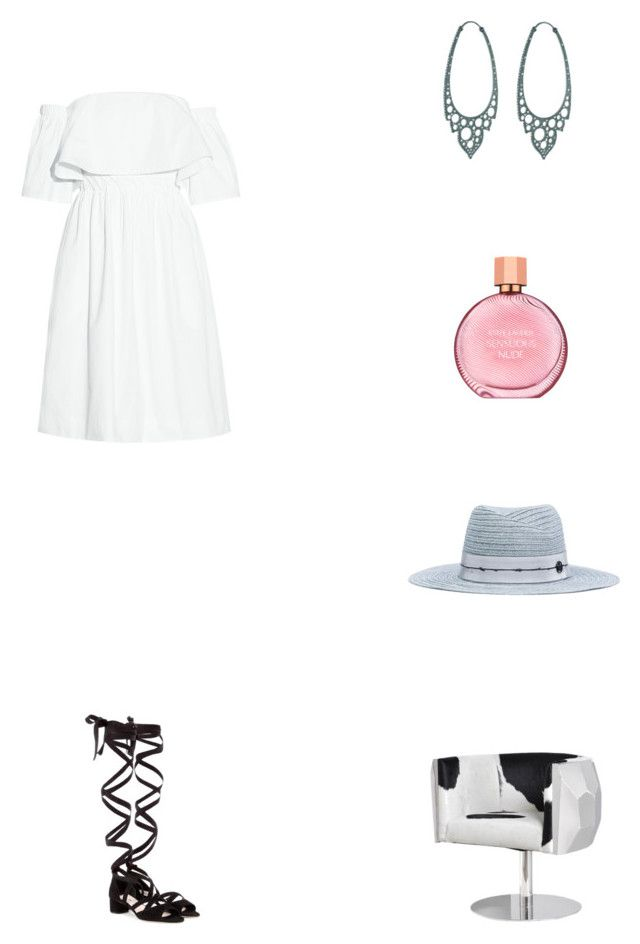 """Grace"" by zoechengrace on Polyvore featuring Paper London, Miu Miu, Maison Margiela and Estée Lauder"