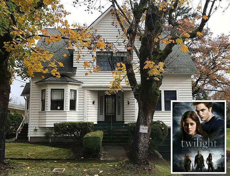 Twilight Bella Swan S House Is For Sale In Oregon Hooked On Houses Twilight House Up Movie House Honeymoon Scene