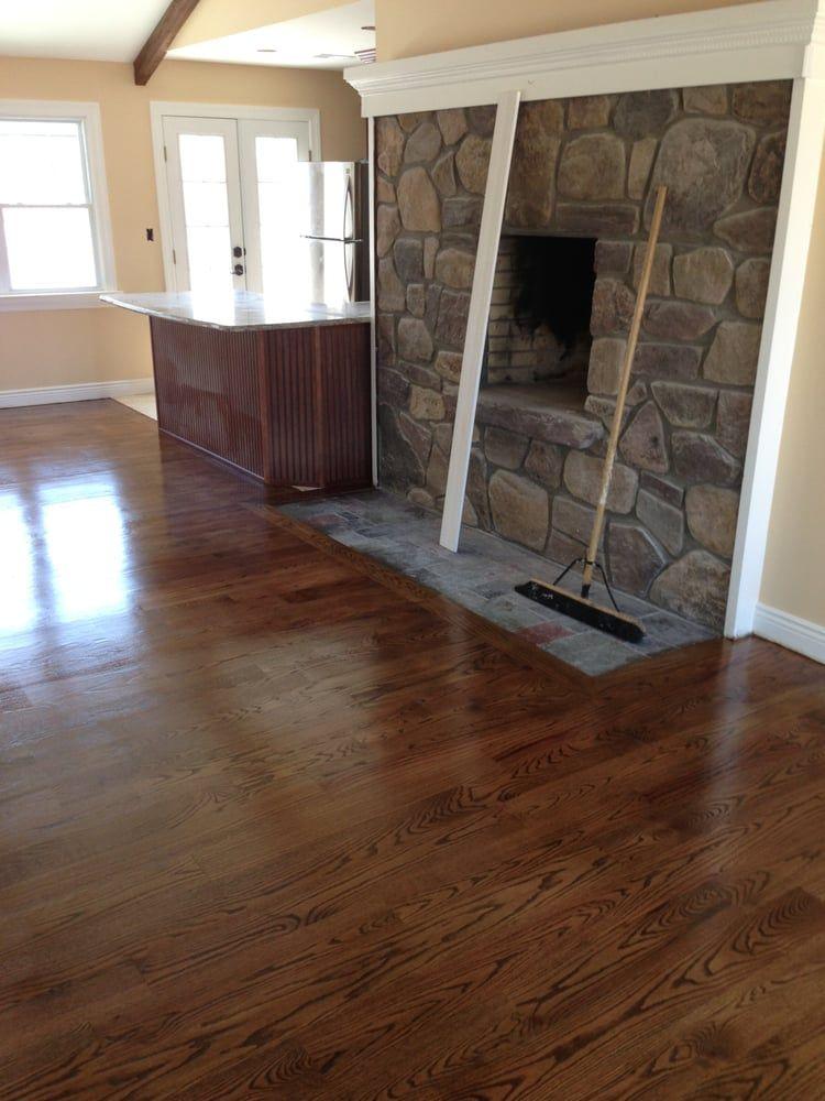 special walnut stain on red oak floors Google Search