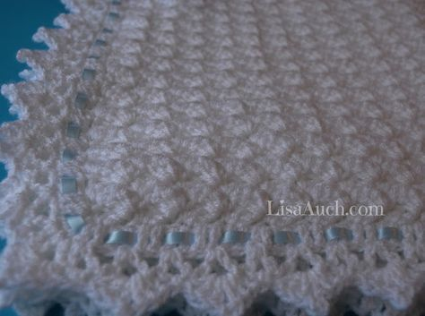 Free Crochet Pattern for a Beautiful Baby blanket or Baby Shawl ...