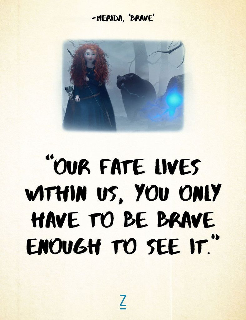 Brave Quotes From 'brave'  Brave Pixar Pixar Movies And Merida