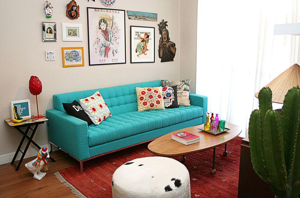 Fabuloso Meu sofá tão, tão lindo | Living rooms, Eclectic decor and Room ZG75