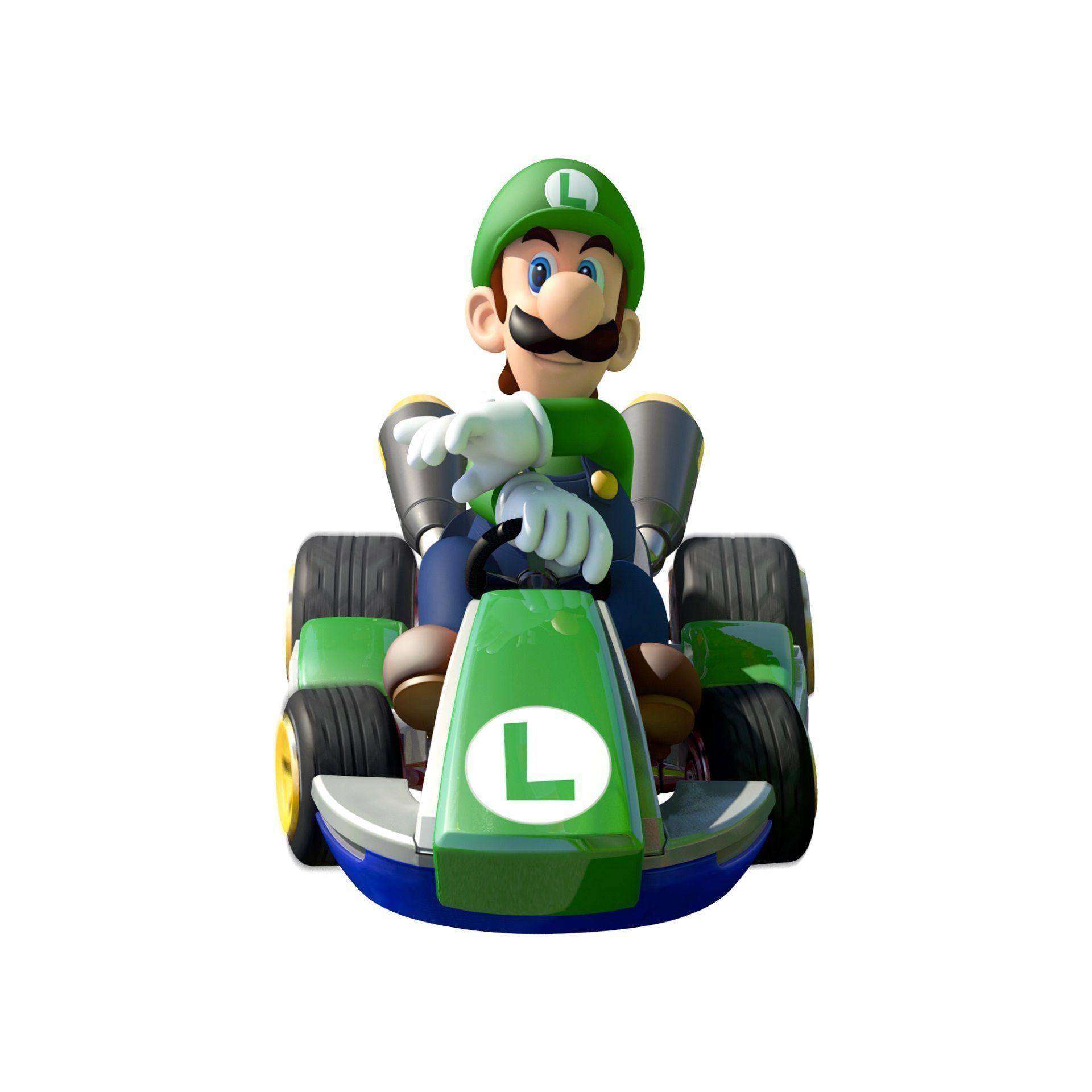 Luigi / Mario Kart 8 / Nintendo WiiU #MarioKart8 #WiiU #NintendoWiiU ...