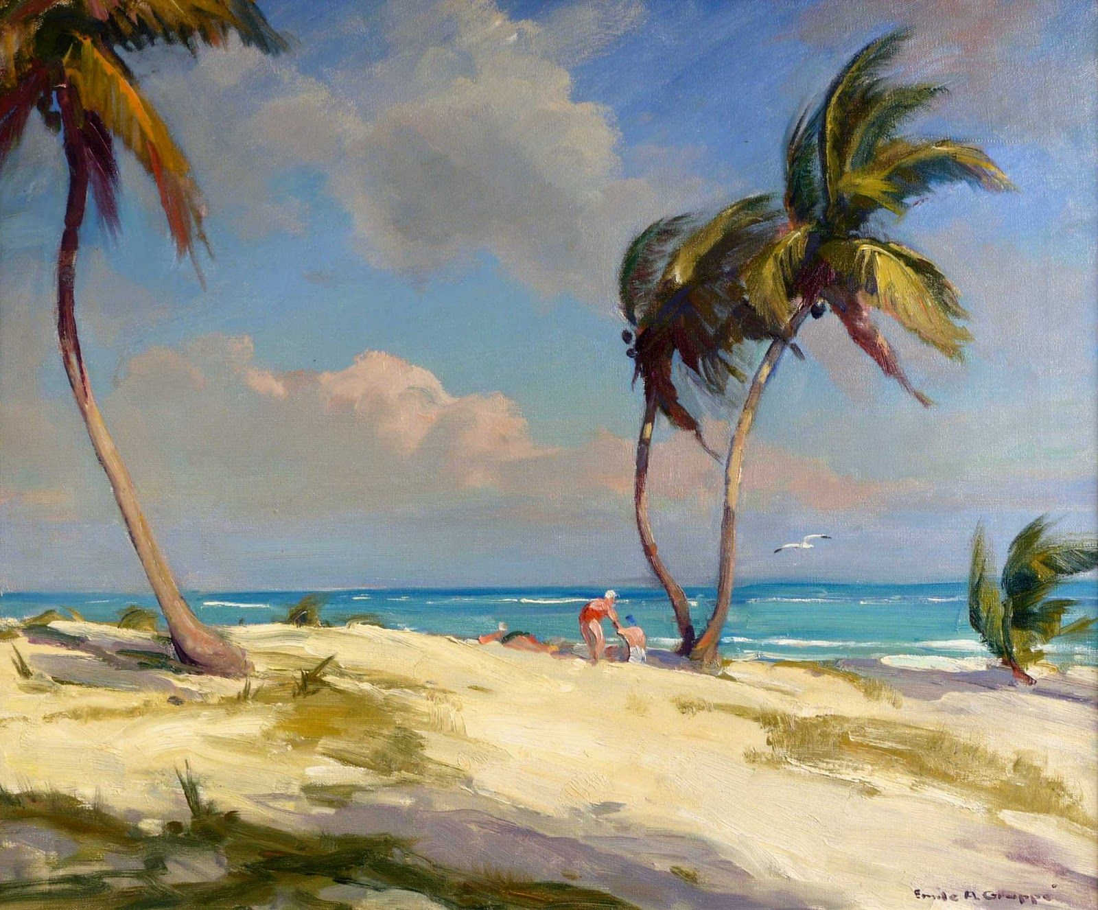 Marine Oil Paintings Pocock Fine Art Gallery Fine Art Florida