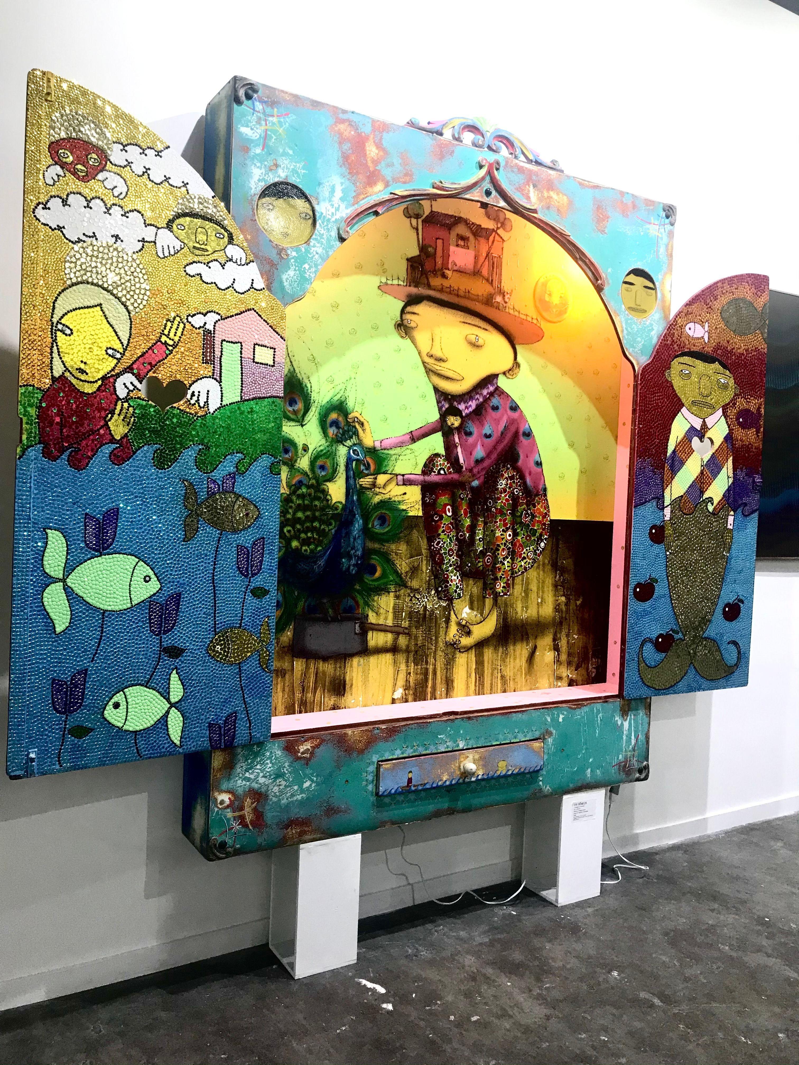 #osgemeos #graffiti #graffitiart . . . . . #urbex #streetshared #aov #weekly_feature #createexploretakeover #shotzdelight #mkexplore #gearednomad #rsa_streetview #contemporaryart #modern #sketch #sculpture #painting #contemporary #ink #draw #fineart #streetart #artgallery #ig_southamerica #unlimitedsouthamerica #loves_southamerica #southamericatravel #southamericatrip #igerssouthamerica #iphoneography #iphoneonly #iphonesia #iphoneography #focalmarked