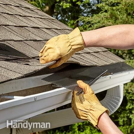 The Best Gutter Guards For Your Home How To Install Gutters Diy Gutters Mobile Home Skirting