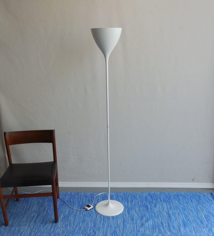 1960s switzerland george kovacs white tulip floor lamp max bill ernst luthiger by dadarama on