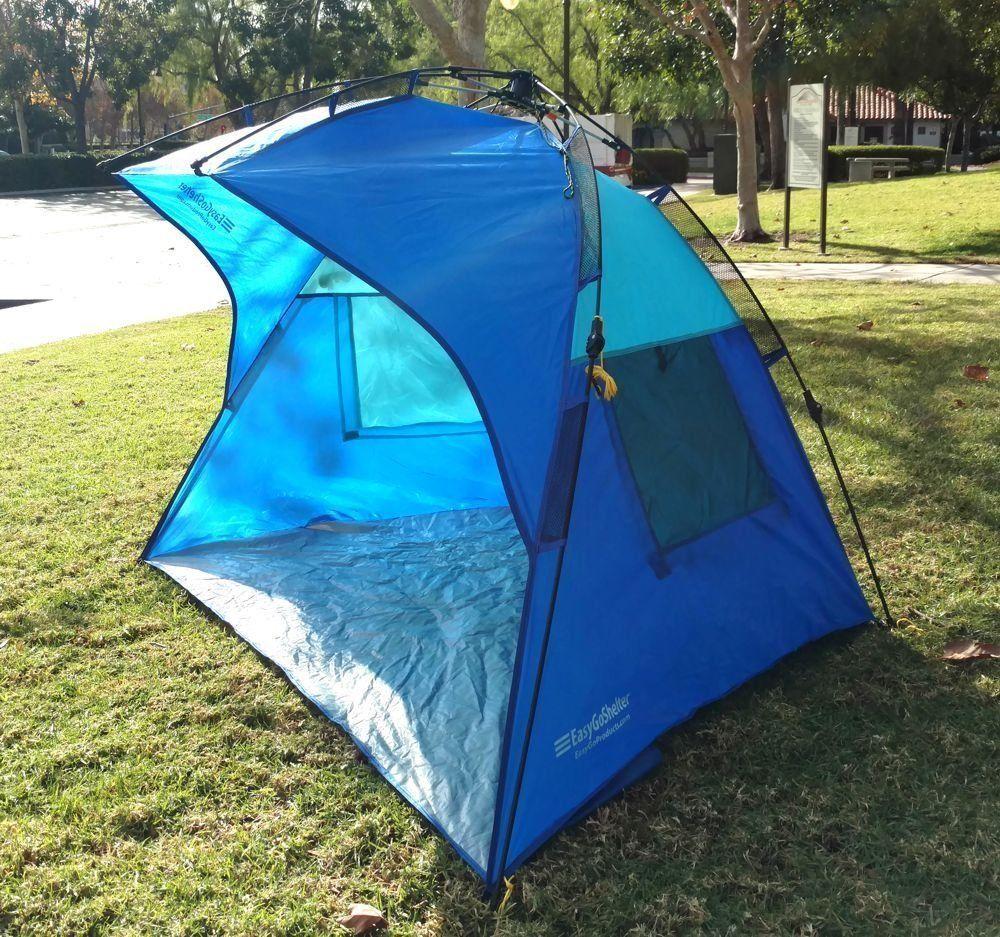 Outdoor Awning Patio Beach Canopy Ez Pop Up Gazebo Camping Shelter Cabana Tent Outdoor Awnings Beach Canopy Camping Shelters