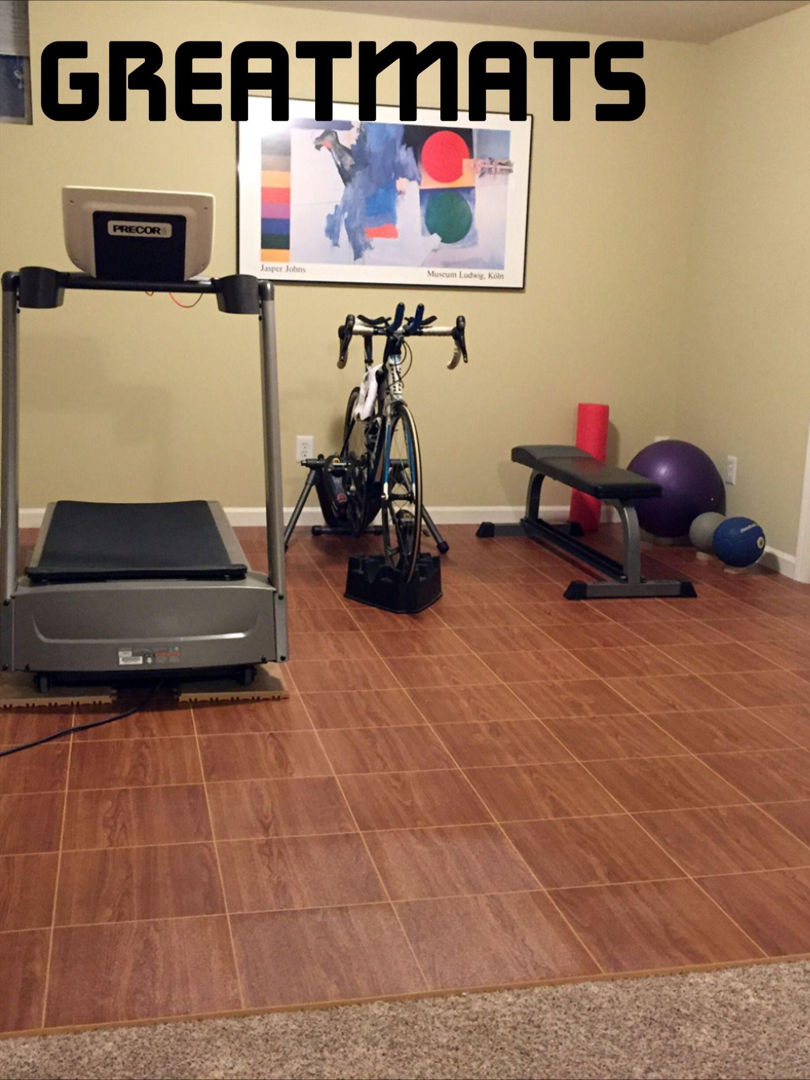 Max Tile Raised Floor Tile Home gym flooring, Portable