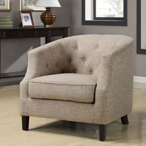 Bon Ansley Trinity Stone Club Chair   Overstock™ Shopping   Great Deals On  Living Room Chairs