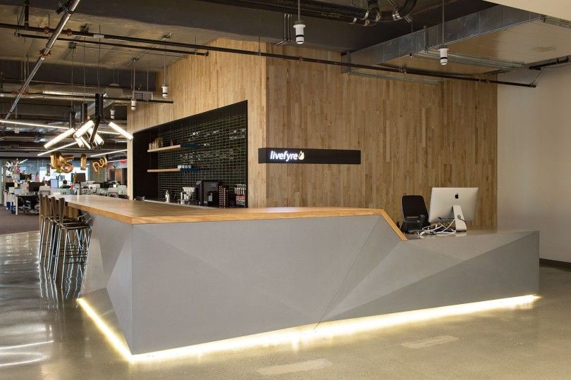 Concreteworks and studio o a collaborated to design and for Office design language