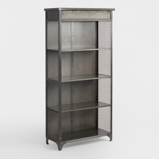 Exuding An Industrial Appeal Our Bookshelf Features Four Non