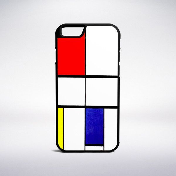 Piet Mondrian - Composition C (No III) With Red, Yellow And Blue Phone Case