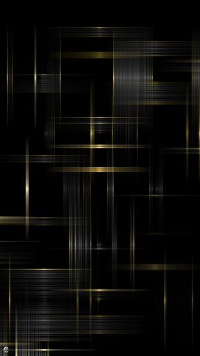 Black and Gold Galaxy S3 Wallpaper (720x1280)