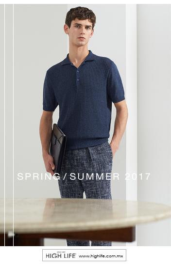 Las notas frescas de esta primavera son oportunas para un excelso atuendo de lino y algodón. #SpringSummer2017 #HighLife #Canali
