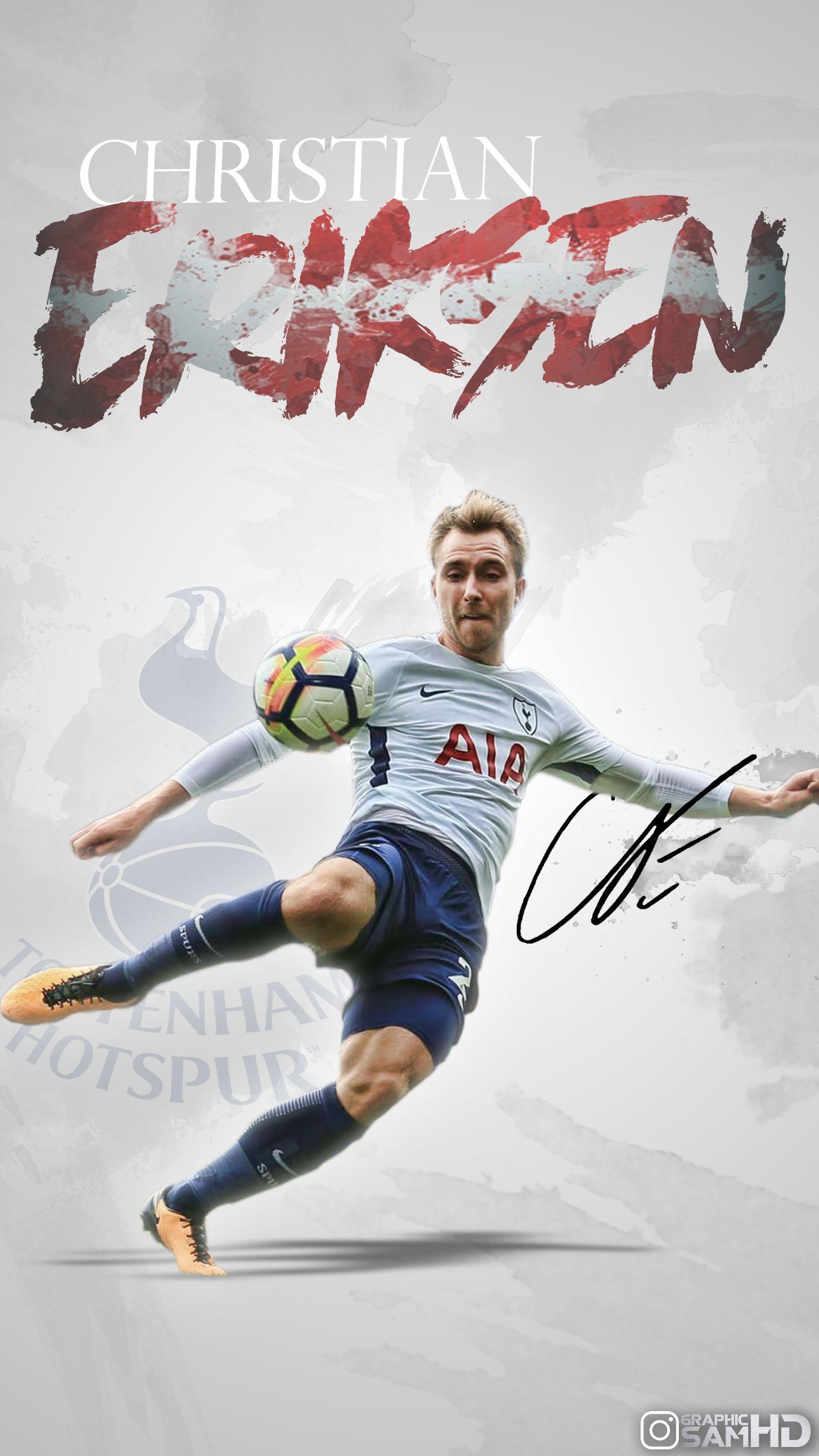6cc16c39808bcd Christian Eriksen Phone Wallpaper 2017 2018. Christian Eriksen Phone  Wallpaper 2017 2018 Tottenham Hotspur ...