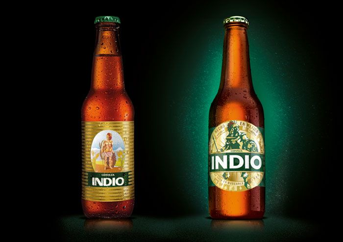 botella indio antes y despues