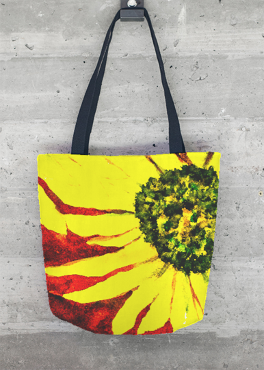 Tote Bag - Poppy Tote Bag by VIDA VIDA Very Cheap 2018 Online Purchase Your Favorite  Sale Ebay Outlet Best Store To Get Y9NCCIH