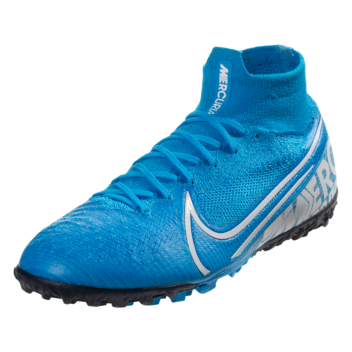 Nike Mercurial Superfly 7 Elite Tf Artificial Turf Soccer Shoe Blue Hero White Obsidian 11 5 Soccer Shoe Blue Shoes Superfly