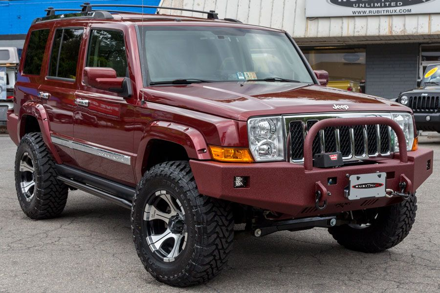 2008 Red Jeep Commander Left Front Angle 09 25 14 Jeep Commander Lifted Jeep Jeep Commander Lifted