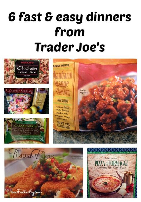 6 favorite easy dinners from trader joe s freezer case trader