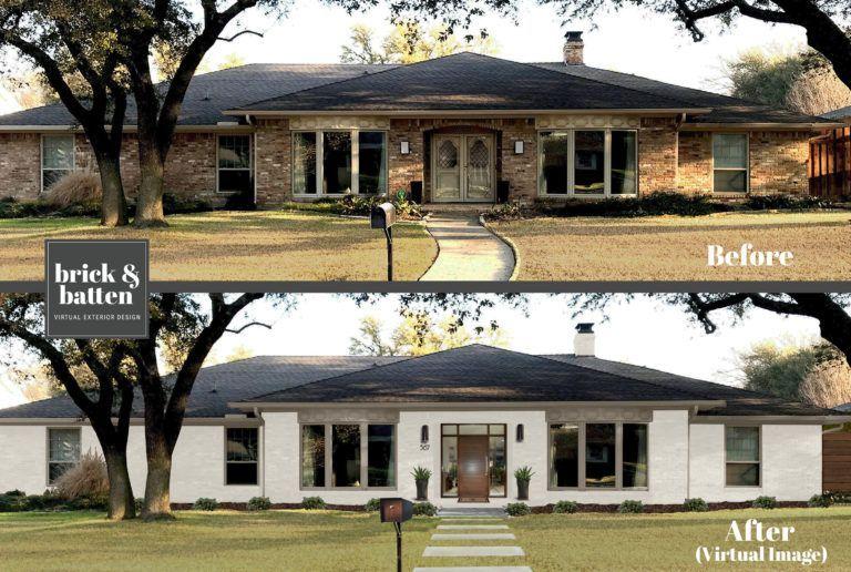 2019年家庭外部设计的12个技巧 In 2020 Ranch House Exterior