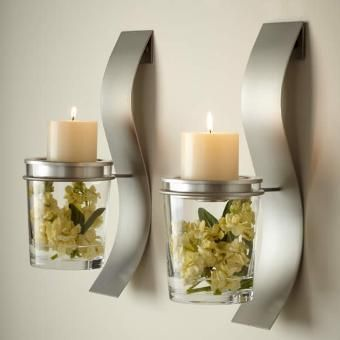 wall sconce silvers stainless luv pillar jasmine insides wall sconces candles imaginative secret