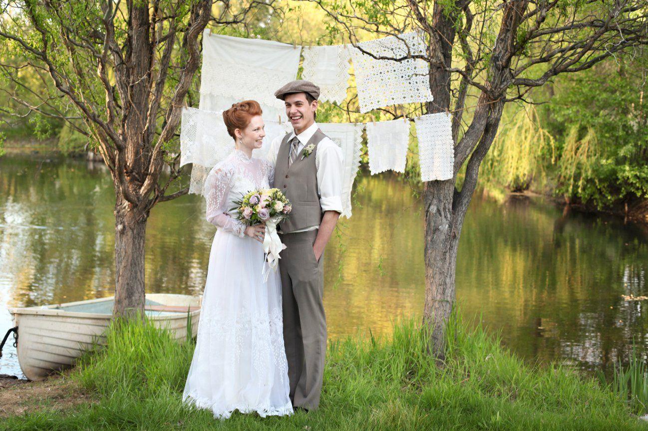 Anne of green gables wedding dress  Anne of Green Gables wedding  Jessica Zais Photography  ANNE