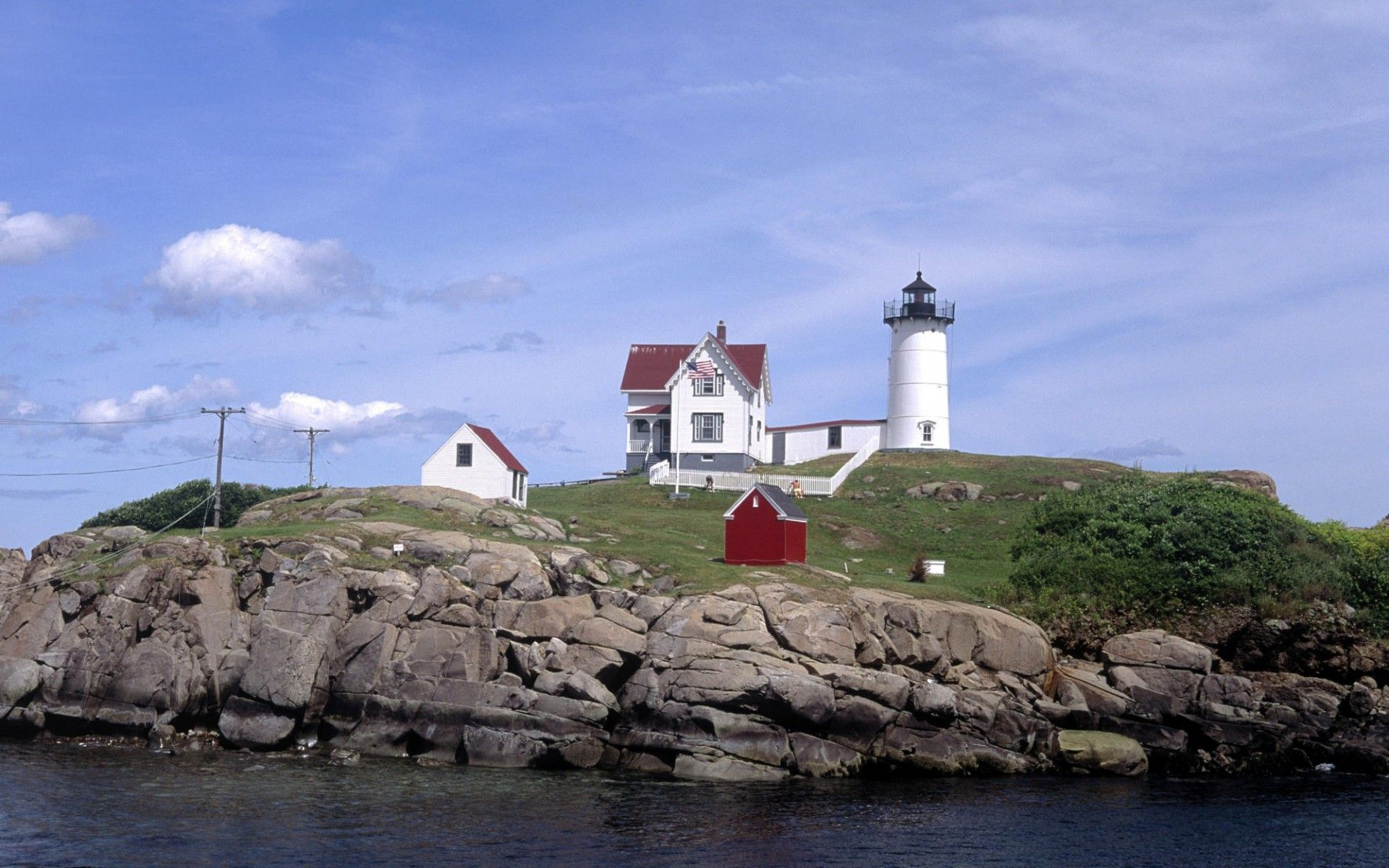 Pin by m a hook on the sea york beach york beach maine lighthouse - Lighthouse live wallpaper ...