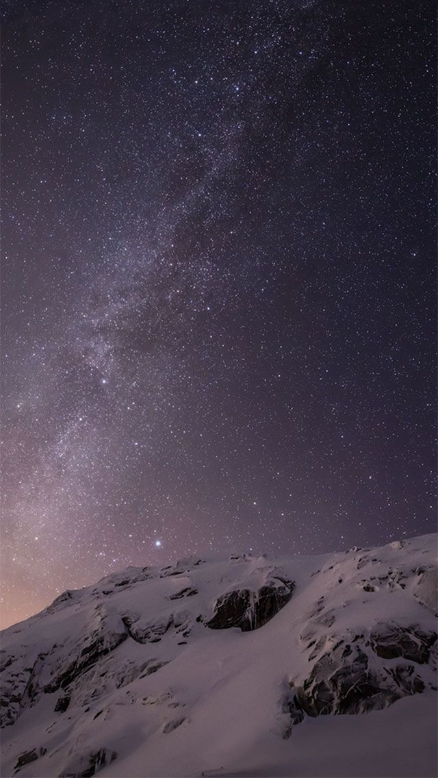 Iphone 6 Milky Way Iphone6 Wallpaper Milkyway Mountain