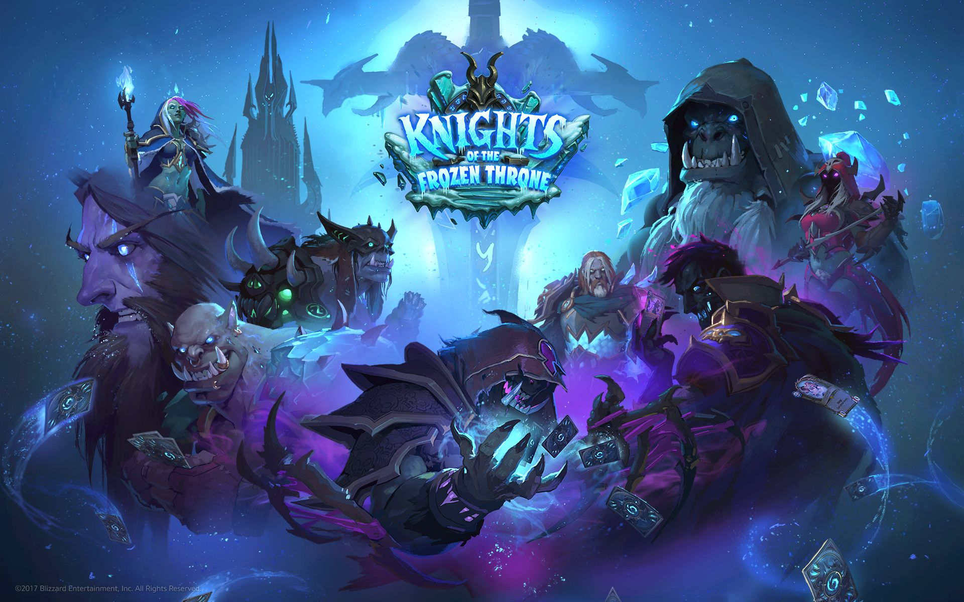 Hearthstone Knights Of The Frozen Throne Wallpaper