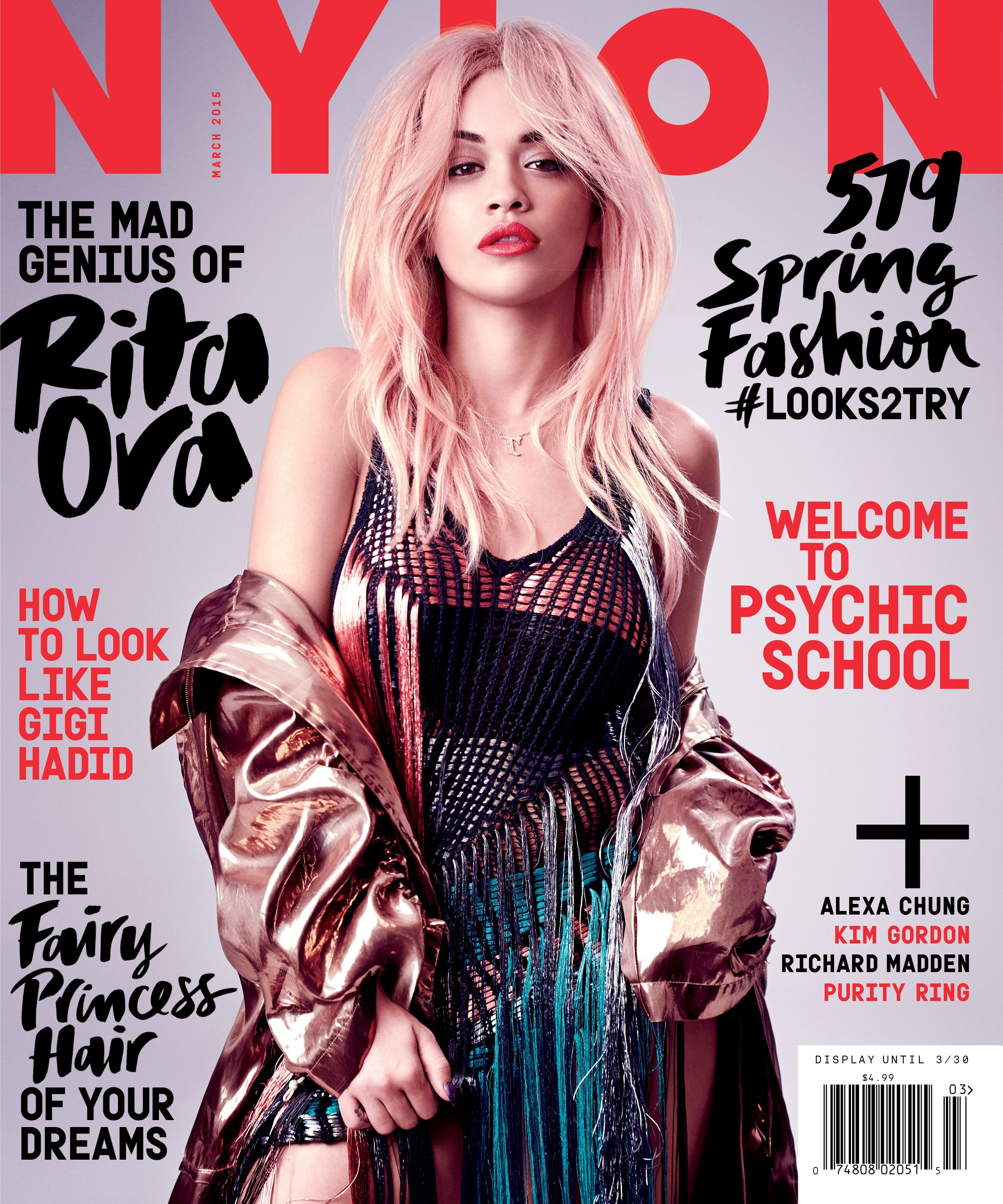 rita ora is our march cover star | NYLON Magazine Covers | Pinterest ...