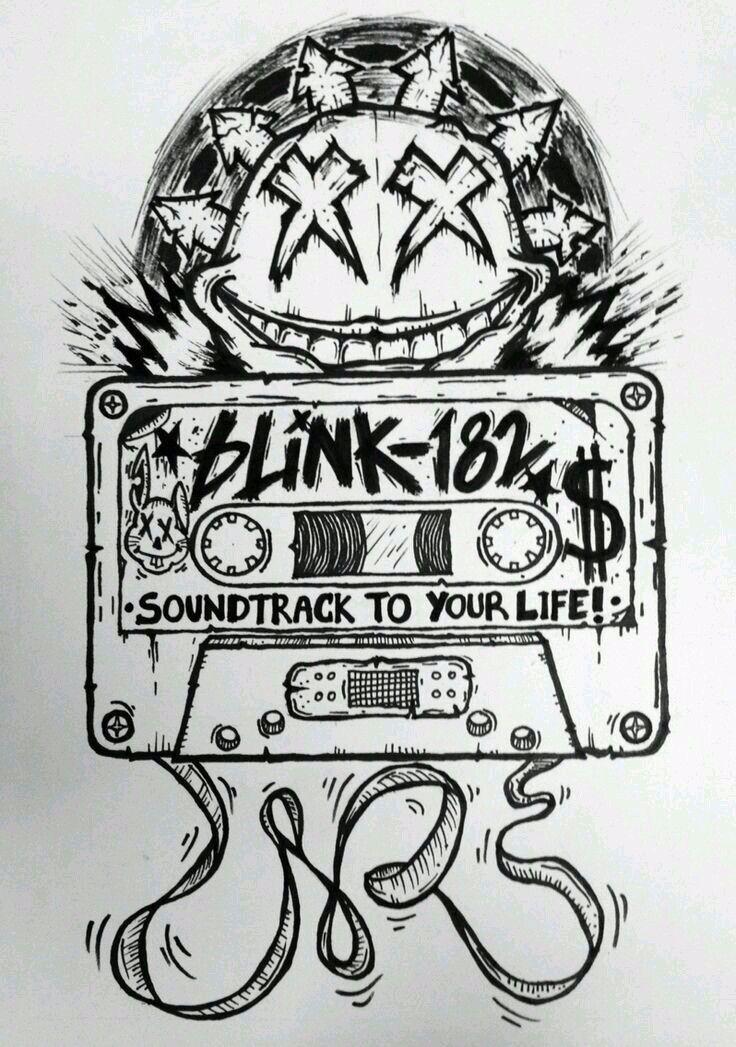 Pin by Irvin Durgan on life in 2020 Blink 182 art, Blink