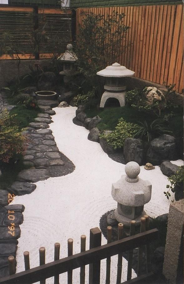 jardines zen diseo Jardn Pinterest Gardens and Plants