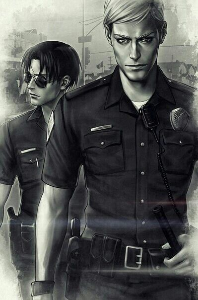 I don't ship it but I like the picture | Attack on Titan/Ereri