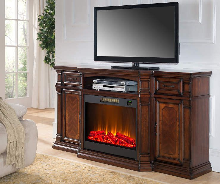 Electric fireplaces and Cherries