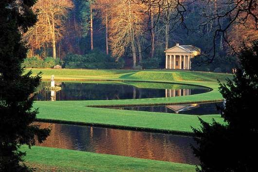 Studley Royal Water Garden, North Yorkshire, England ...