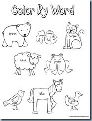 brown bear coloring page Back to School Ideas Kindergarten