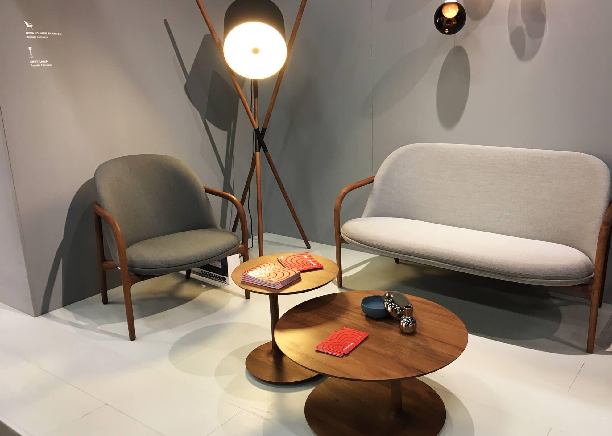 Küchenstühle Roller ~ Artisan neva lounge chair und stehleuchte shift imm cologne