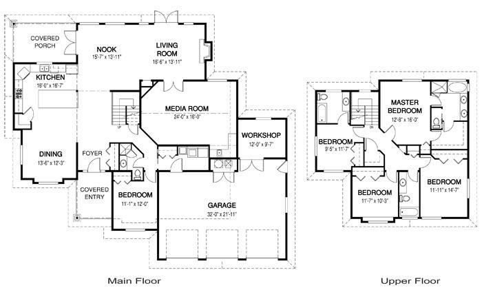 Architektur Grundrisse Designermöbel (mit Bildern