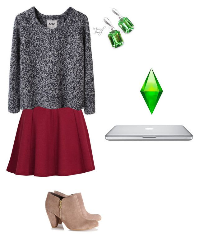 """""""Sims Forever"""" by katiemiller-v on Polyvore featuring River Island, Acne Studios and Wallis"""