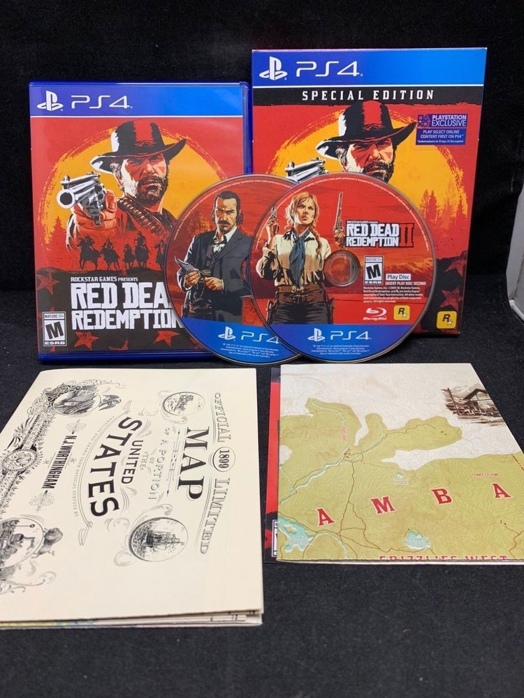 Red Dead Redemption Ii 2 Special Edition Ps4 Playstation 4 Reddeadredemption Gaming Xboxone Red Dead Redemption Ii Red Dead Redemption Playstation 4