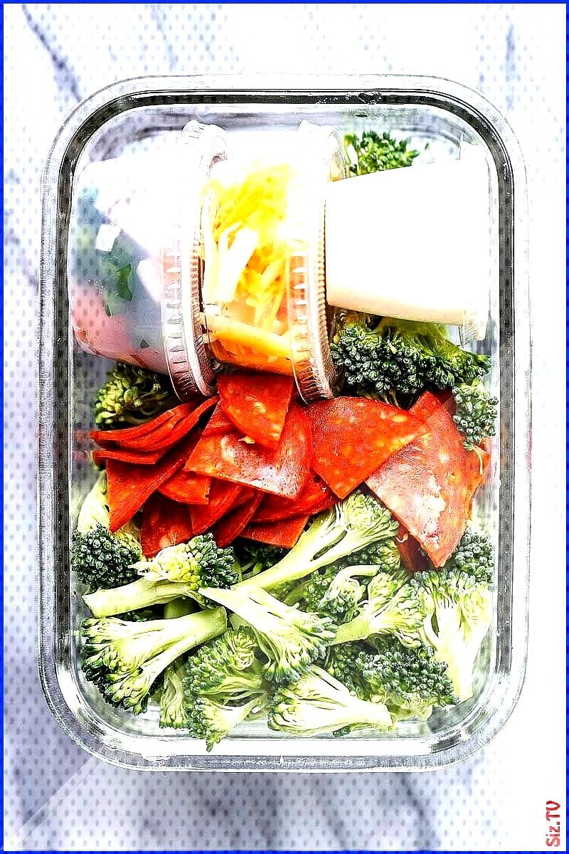 Meal Prep Salad mealprep salad keto lowcarb eatwell101 recipe Crunchy and full of flavor this bro